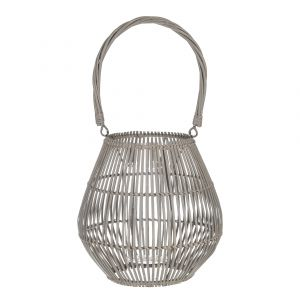 Amalfi Aran Lantern Natural 15x26x45cm