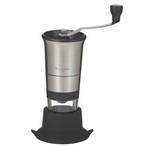 Savannah Smart One Hand Coffee Grinder Stainless Steel/Black/Clear 19x11.5x23cm