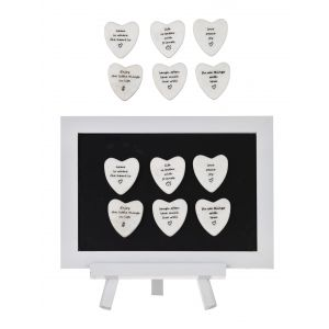 Amalfi Inspirational Magnets 6 Asst Designs 8 Of Each Phrase 4.5x0.5x4.5cm