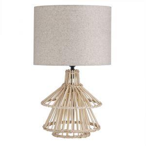 Amalfi Odetta Table Lamp Natural 28x28x45cm