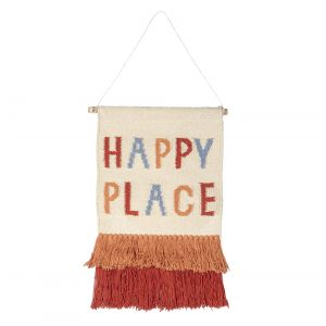 Happy Place Wall Hanging LAWAEM011