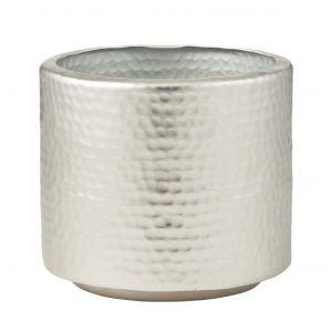 Rogue Tanya Pot Silver 20x20x18cm