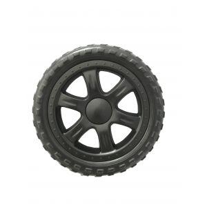 Finlayson Shopping Cart Spare Wheel Black 18x18x3cm