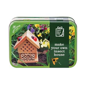 Apples to Pears Make Your Own Insect House in a Tin Multi-Coloured 14.5x10.5x5.6cm