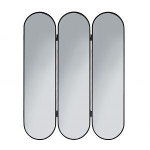 Amalfi Forum Mirror Black 76.5x2.5x1cm