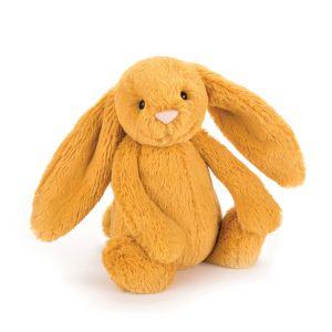Jellycat Bashful Saffron Bunny Medium Yellow 31x12x15cm