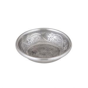 Davis & Waddell Ravi Condiment Bowl Antique Silver 14x14x3xcm