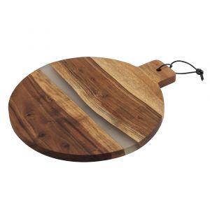 Amalfi Falkland Round Paddle Board Natural/Clear 35x40x2.5cm