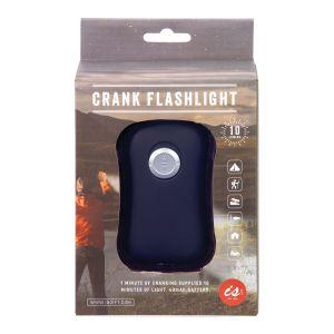 IS GIFT Crank Flashlight  Black