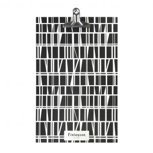 Finlayson Clipboard Signage Display A4 Black/White 3.5x23x35cm