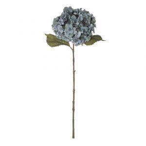 Rogue Hydrangea Stem Dusty Blue 26x23x66cm
