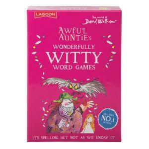 Lagoon David Walliams - Awful Auntie's Wonderfully Witty Word Pink 11x30x15.5cm