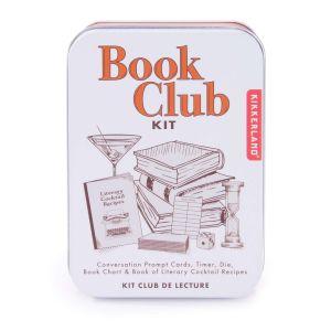 Kikkerland Book Club Kit White