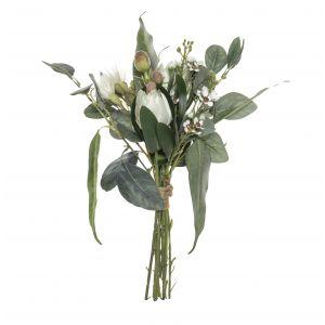 Rogue Australiana Mix Bouquet White 18x18x33cm