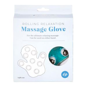 IS GIFT Rolling Relaxation Massage Glove  Green
