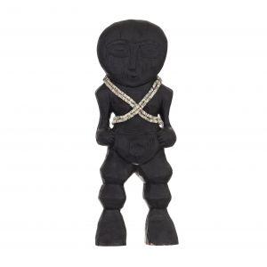 Amalfi Congo Sculpture Black 15x7x38.5cm