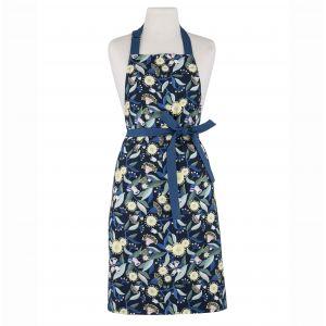 Australiana Gum Blossom Apron Blue/Multi 70x85x0.2cm