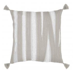 Amalfi Herve Cushion Grey/White 50x10x50cm