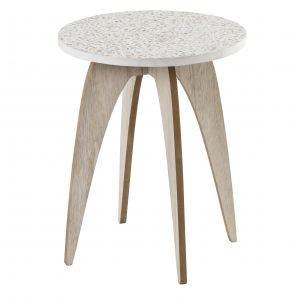 Emporium Frolic Side Table White/Natural 40x40x50cm