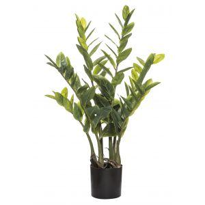 Rogue Zanzibar Gem-Garden Pot Green/Black 42x42x70cm