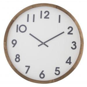 Amalfi Leonard Wall Clock Brown/White/Black 61x6x61cm