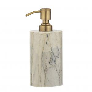 Amalfi Moncler Soap Dispenser Moss/Brass 7.5x7.5x12.5cm/250ml