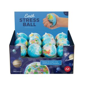 IS GIFT Earth Stress Ball 70mm  Multicoloured