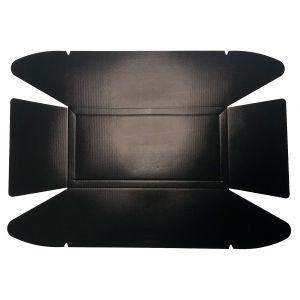 NoStik Reusable Non-Stick Loaf Tin Liner Black 35x25x0.1cm/Fits 450-900g Loaf Tin