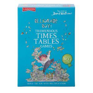 Lagoon David Walliams - Tremendous Times Tables Games Blue