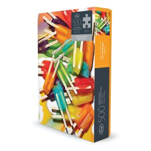 Fred Fred Jigsaw Puzzle Popsicles - 500 pcs  Multicoloured