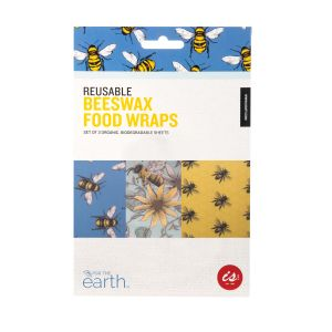 IS GIFT Reusable Beeswax Food Wraps  - Bees Multicoloured Designed in Australia