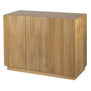 Grand Designs Bright 3 Door Cabinet Natural 120x42x83cm