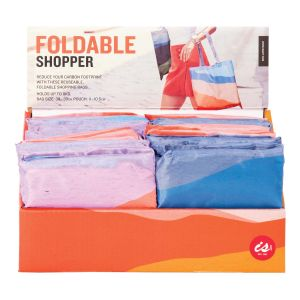 IS GIFT Foldable Shopper -Abstract Tones  assorted Designed in Australia