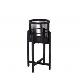 Amalfi Holbrook Planter Stand (KD) Black 30x30x60cm