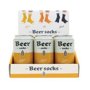 Luckies Beer Socks - Lager  Orange