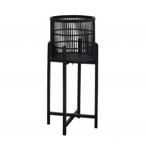 Amalfi Holbrook Planter Stand (KD) Black 36x36x73cm