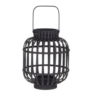 Amalfi Kells Lantern Black 24x24x41cm
