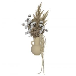 Rogue Cotton Spray Mix-Toscana Pot Brown/Beige 43x30x123cm