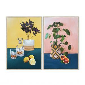 Amalfi Good Things Wall Décor Set/2 Multi 40x5x60cm