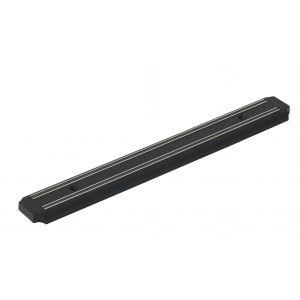 MasterPro Magnetic Knife Rack Black 38x5x1cm