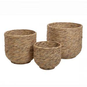Rogue Paxton Basket Set/3 Natural 29/39/44cm