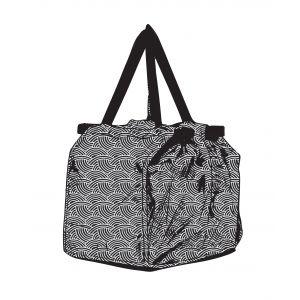 Davis & Waddell Sala Shopping Trolley Bag with Insulated Pocket Arc 48x32x34cm/Folded 36x5x10cm