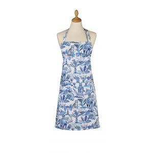 Ulster Weavers India Blue Apron White/Blue 95x70x0.2cm
