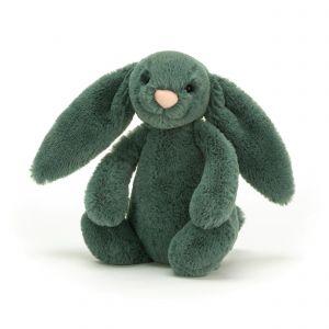 Jellycat Bashful Forest Bunny Small Green 18x9x10cm