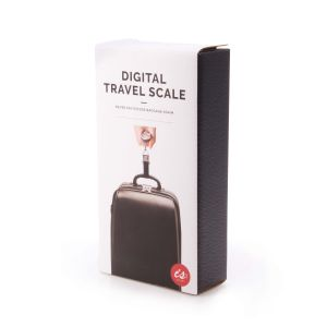 IS GIFT Digital Travel Scale  Silver