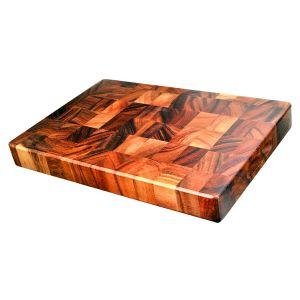 Davis & Waddell Acacia Wood End Grain Cutting Board Natural 38x26x4cm