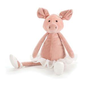 Jellycat Dancing Darcey Piglet  Pink
