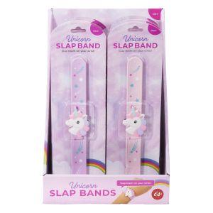 Is Gift Unicorn Fantasy Slap Bands (2Asst/24Disp) Assorted 22.5x4x1cm