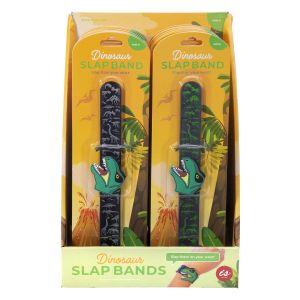 IS GIFT Dinosaur Slap Bands  assorted Designed in Australia
