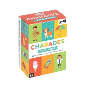 Petit Collage Charades for Kids Multi-Coloured 12.5x9.1x5.7cm